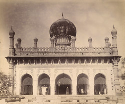 Front interior view, Jamma Masjid, Adoni, Bellary District